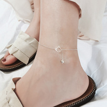 Cat Bell Footchain 925 Silver Footwear Woman Mori is a lovely and sweet temperament with a wide range of Korean silver jewelry.
