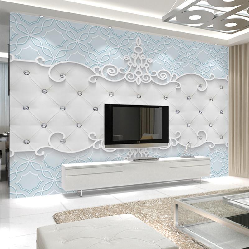 床头背景3d立体墙纸