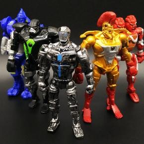 铁甲钢拳亚当金霸王偷袭者 环太平洋机器人可动人偶玩具模型手办