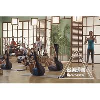 Professional Super Clear English Yoga Personal Training Class 60 minutes locust type tandem yoga practice course teaching