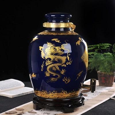 家用装酒坛子带龙头泡酒瓶子药酒壶白酒药酒罐子10斤20斤30斤50斤