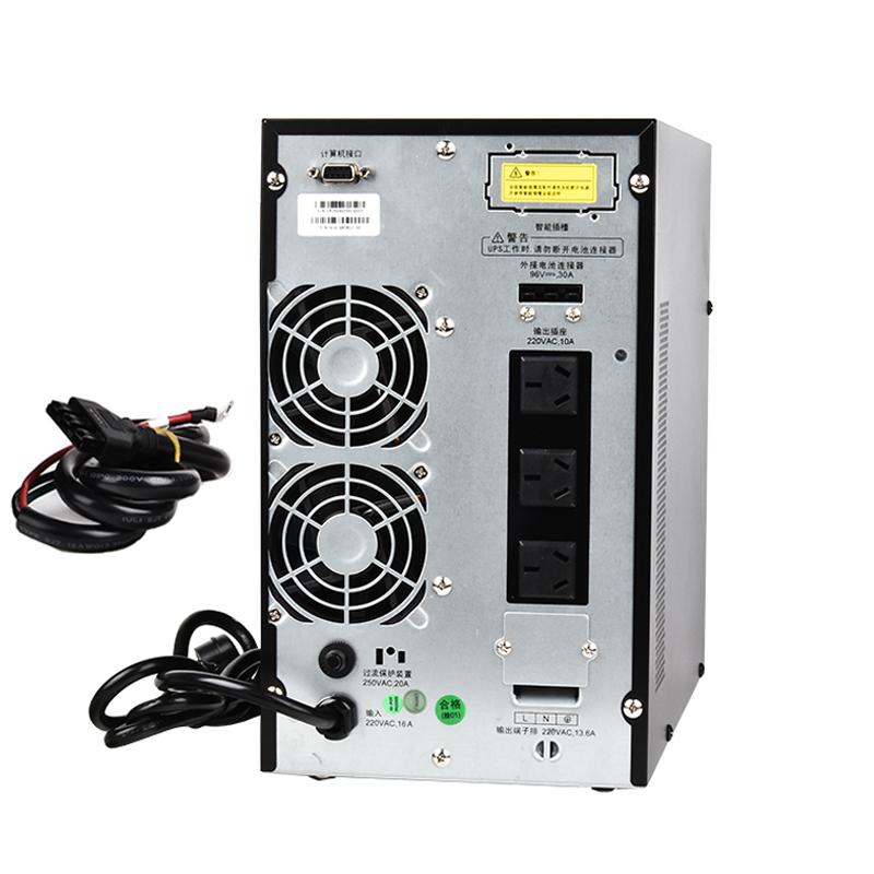 摩图 HQ II 3KL/2400W 在线式UPS不间断电源 外置电池延时30分钟