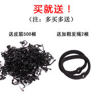 Korean version of the black clip hairpin adult wave clip small black clip headdress steel clip side clip hairpin hair accessories boxed