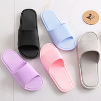 Japanese-style home slippers summer couples slippers women indoor plastic bathroom slip bath shoes home home shoes