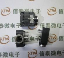 3F07 双声道 3.5MM音频插座/耳机插座 5脚 五脚
