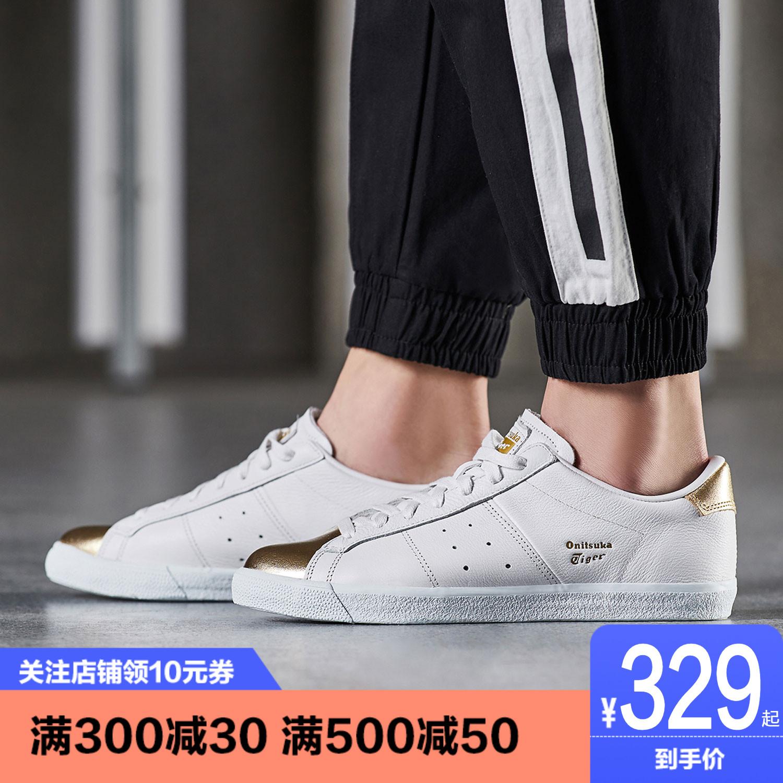 亚瑟士鬼冢虎男鞋女鞋板鞋2019新款休闲运动鞋D518K-0193
