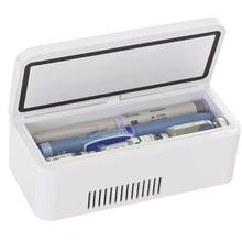 赫尔?#23478;?#23707;素冷藏盒2-25度便携药品储存医用小冰箱USB连接 待机长
