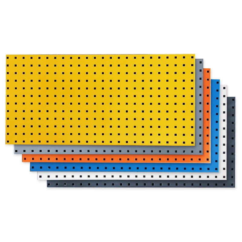 洞洞板工具墙五金展示架挂壁货架多功能方孔挂板挂钩物料整理架