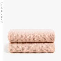 Zara Home 斑纹色针织毛毯 47606004644