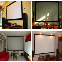 Projection screen wall hanging screen simple screen projector screen simple projection cloth screen projector screen customization