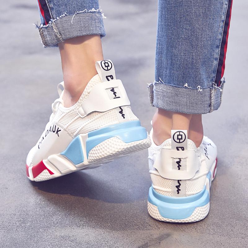 男鞋夏季透气ins超火的鞋子 时尚运动鞋韩版潮流百搭小白鞋男潮鞋