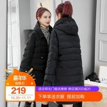 冬季大码棉袄女2018新款韩版宽松bf加厚胖妹妹显瘦棉服女中长款潮
