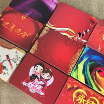 Creative Trend host Hand Card line card party general China Wind Wedding annual event Master memory card