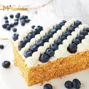 mcake官网蓝莓拿破仑蛋糕千层酥水果创意生日蛋糕 同城配送上海
