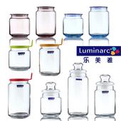 玻璃储物罐 茶叶罐 乐美雅凝彩 防潮密封罐 厨房收纳瓶 糖果罐子