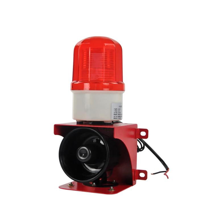 杭亚YS-BJ02工业语音声光报警器室外行车报警喇叭消防12V24V220V