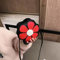 清新花朵小童包包女宝宝可爱斜挎包2018公主单肩包儿童配饰小包潮
