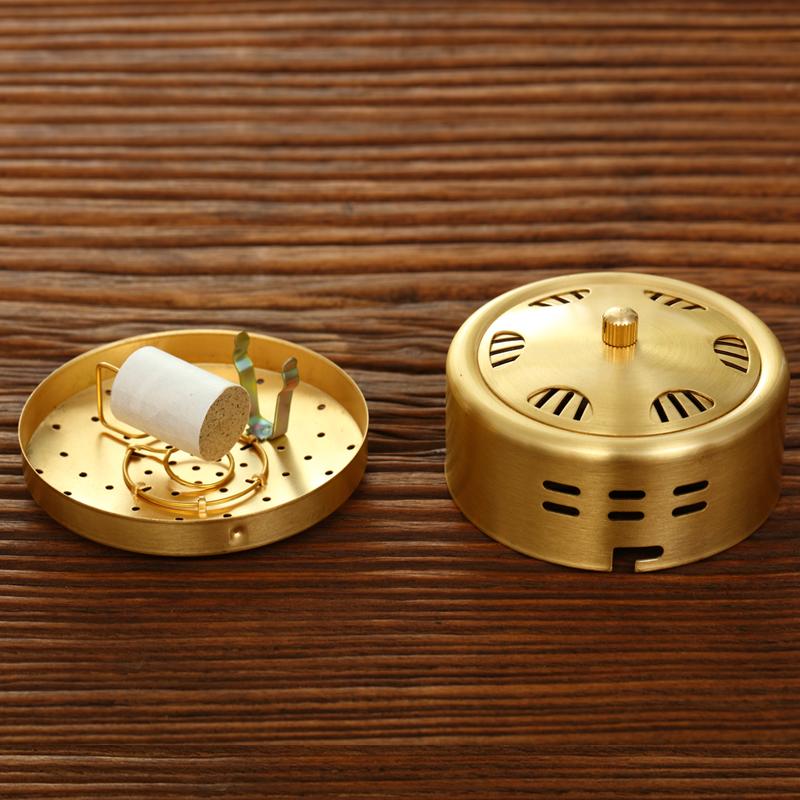 特价全铜艾灸盒 随身灸艾灸罐 火龙灸器悬灸 包邮