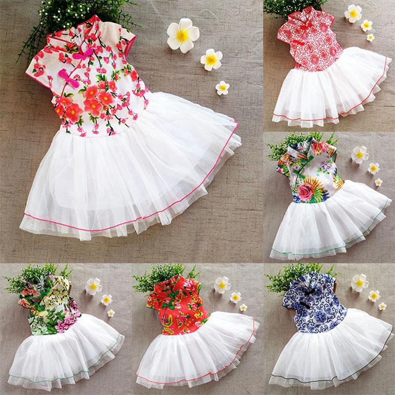 儿童旗袍纱裙