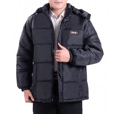 中老年男士加厚棉袄中年爸爸装冬季棉服男装冬装休闲外套父亲棉衣