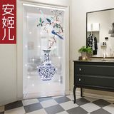 An Jier painting curtain crystal bead curtain living room partition Chinese style curtain porch crystal curtain Chinese style curtain pattern curtain