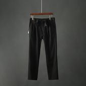 休闲裤 HT232 长裤 男装 2019夏季新款 九分裤 宽松纯色百搭薄款 男士