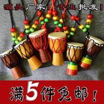 寸初学者彩绘学生自学儿童云南非洲鼓10寸8寸6雕刻幼儿园手鼓
