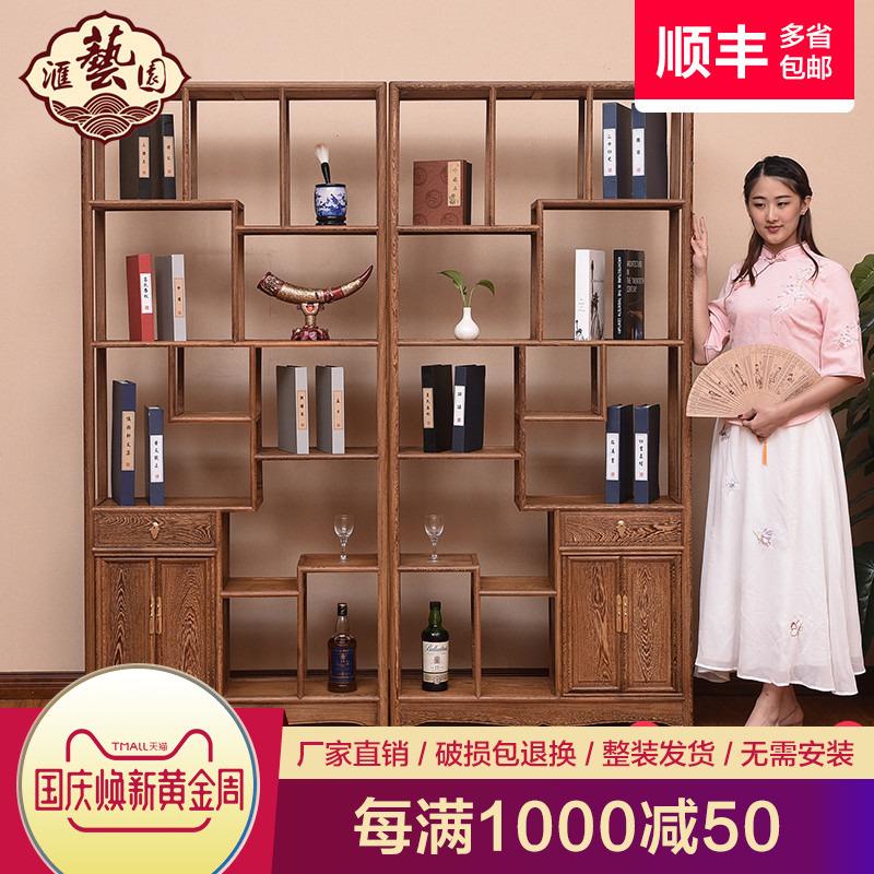 红木家具博古柜