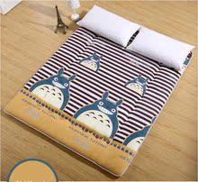 龙猫儿童床垫单人卡通榻榻米懒人沙发双人可爱个性休闲可折叠床褥