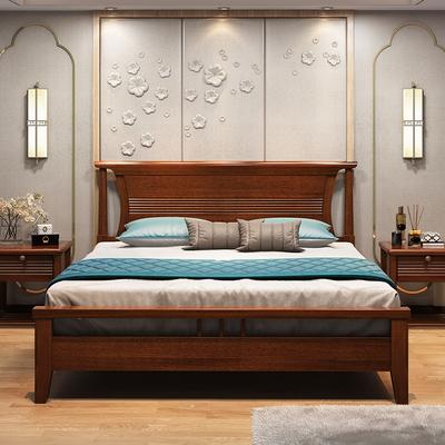 新中式床 1.8床中式家具哪个牌子好
