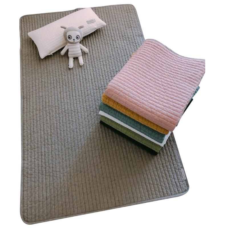 100%纯棉婴儿床单 手工制作不一样的品质 新生儿透气吸汗小床垫