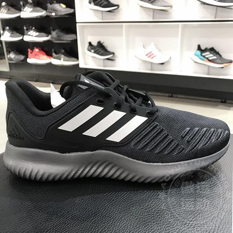 阿迪达斯男鞋阿尔法小椰子运动鞋透气减震跑步鞋2019冬新款G28919