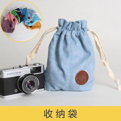 索尼微单相机包数码收纳袋相机镜头保护套收纳包内胆包佳能年中大促