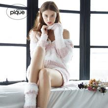 gelatopique秋季日系条纹可爱保暖上衣PWNT184046