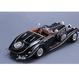 Mechtu original factory 1:18 1936 Mercedes 500K classic classic classic classic car simulation alloy car model collection