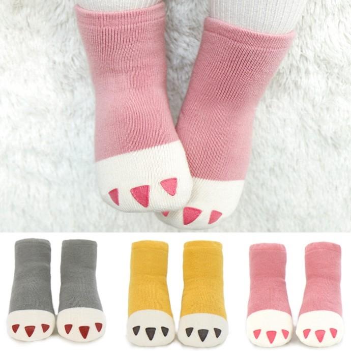 儿童毛袜子加厚保暖冬季