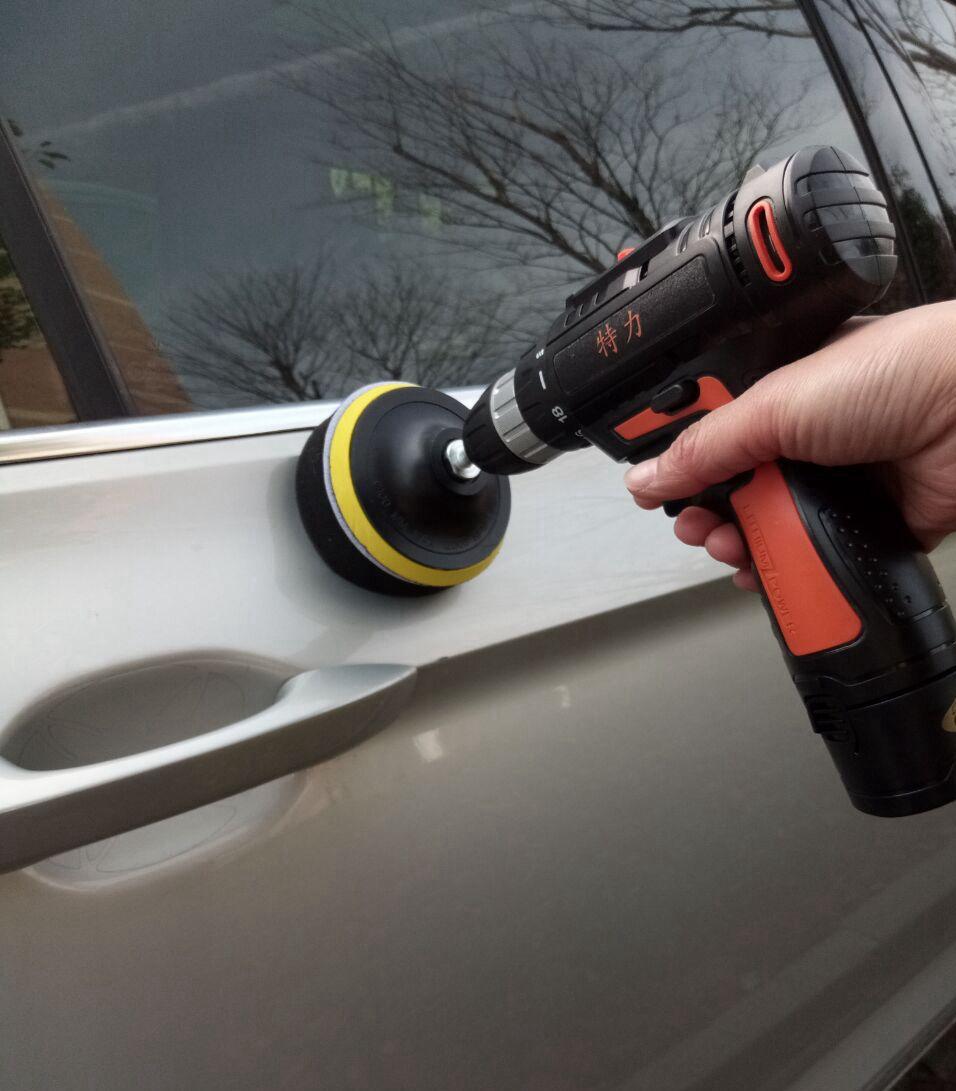汽车抛光打蜡机美容工具地板电动充电家用车用划痕修复封釉打磨机