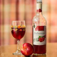 草莓 果酒水果酒女士 德国Katlenburger草莓酒甜酒 一瓶刚摘下