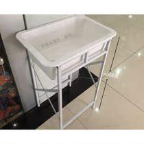 新品家用陶瓷水池橱柜石板台嵌入式四方蓄水桶水箱储水槽厨房水缸