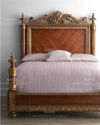 法式做旧床