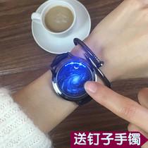 新款手表男防水双日历夜光石英男表钢带简约休闲潮流男士手表