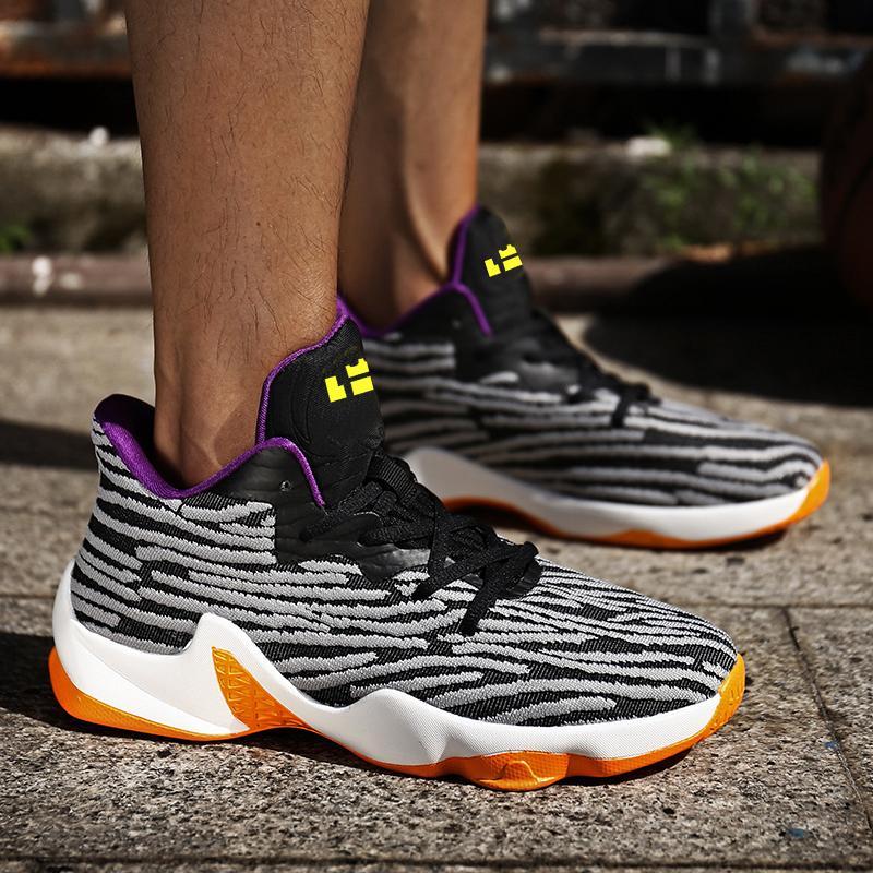 正品恩施耐克詹姆斯士兵11代篮球鞋科比10同款战靴nba全明星中学