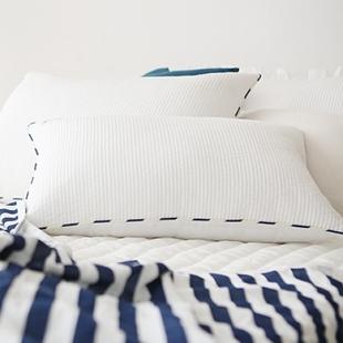 韩国 婴幼儿人造丝枕套清凉枕套 夏凉枕头通风舒适枕套50*30