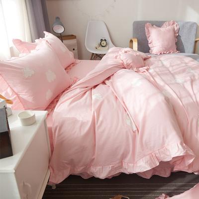 纯棉韩式床单