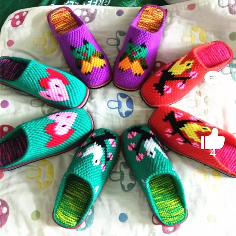 Вязаная и тканевая детская обувь Артикул 546905741955