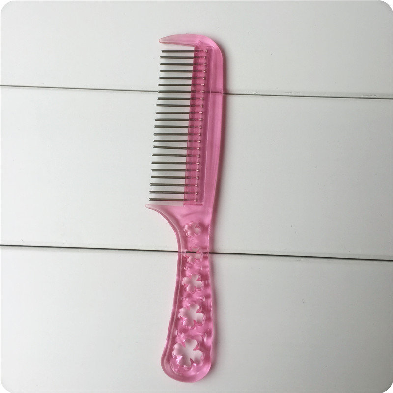 假发专用防静电钢齿梳子 宽齿 小梳子 假发打理帮手