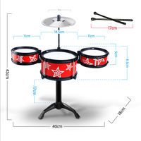 Infant children puzzle drum toy beginner 1-3-6 years old boy and child entry enlightenment percussion instrument