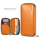 German MODERN Passport Pack, Airline Ticket, Passport Clamp, Multifunctional Passport Pack, Small Leather Mobile Handbag