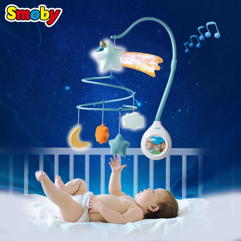 法国smoby床头铃 儿童玩具0-1岁 床铃 婴儿 带音乐 毛绒女孩男宝5元优惠券