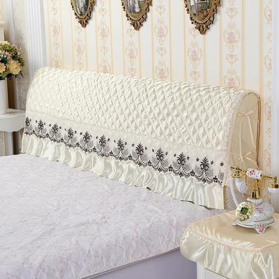 床头罩床头套防尘罩1.5m床1.8m床简约夹棉拆洗软包欧式实木保护套2018新款